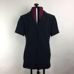 Talbot's Navy Blue Suit Jacket Petite Sz 2